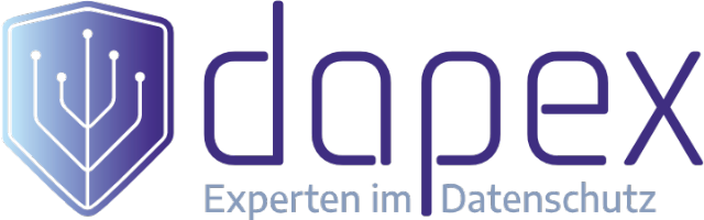 dapex - data protection experts Logo - farbig